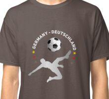fußball schuß ball germany nationalmannschaft tor sport junge Classic T-Shirt