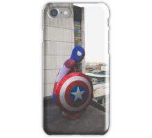 Captain Spider-Man Rooftop 2 - DavidMenziesCosplay iPhone Case/Skin