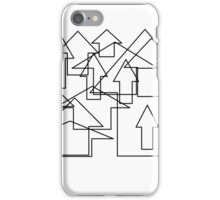 Go there! (arrows) iPhone Case/Skin
