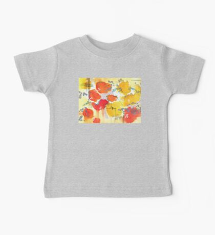Abstract Couds Baby Tee
