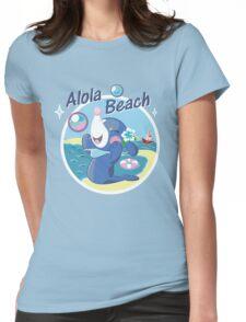 Alola Beach Womens Fitted T-Shirt