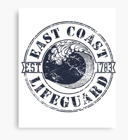 East Coast Lifeguard Canvas Print