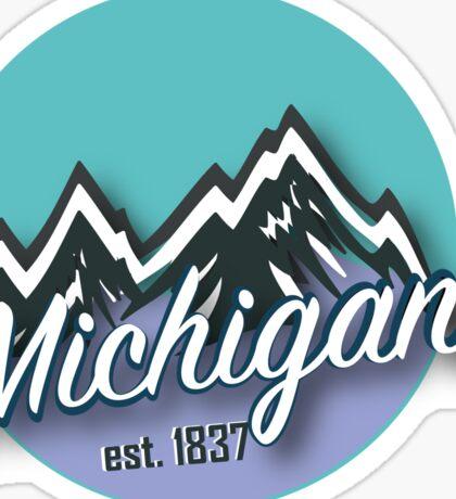 Michigan 3 Sticker