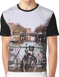 In Old  Amsterdam  Graphic T-Shirt
