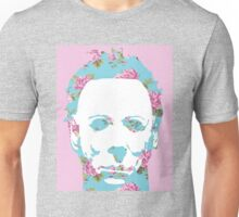 Floral Michael Pop Art Unisex T-Shirt