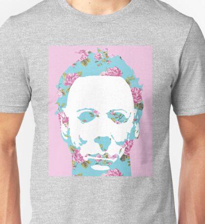 Floral Michael Pop Art Unisex T-Shirt