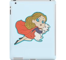 Supergirl and Krypto iPad Case/Skin