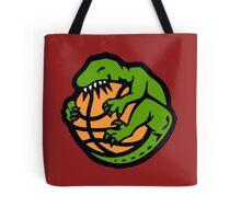 funny raptors Tote Bag