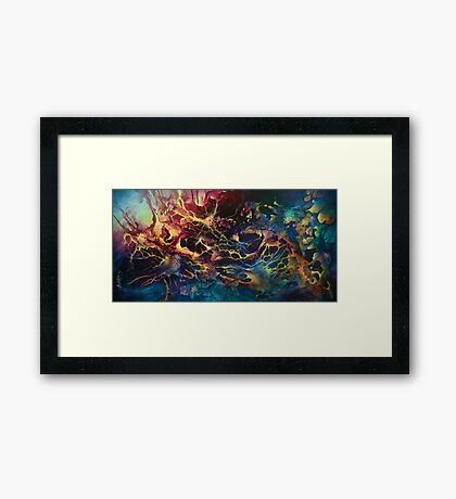 'Dragons Light' Framed Print