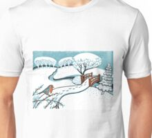 Snow, Bournemouth Gardens Unisex T-Shirt