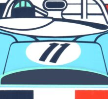 Vintage Le mans racing decal Sticker
