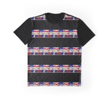 American Chevy Design Graphic T-Shirt