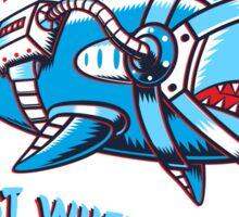Space Shark Sticker