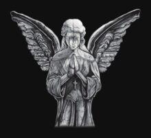 Angel - Statue Kids Tee
