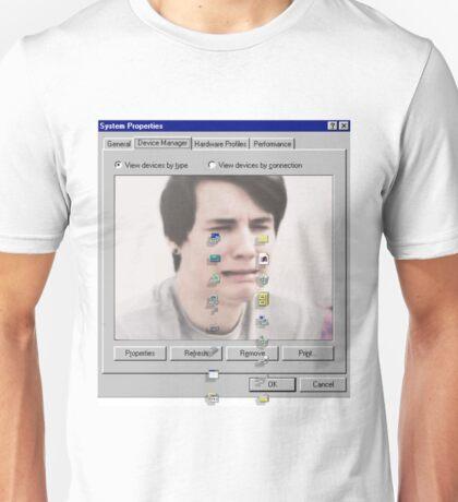 Dan crying Unisex T-Shirt