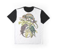 Indian Chameleon Graphic T-Shirt