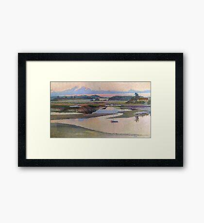 Riverside Calm Framed Print