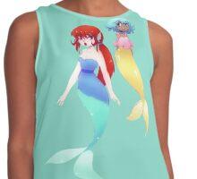 Two Mermaids Contrast Tank