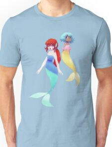 Two Mermaids Unisex T-Shirt