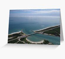 Sebastian Inlet: Gateway to the Atlantic Greeting Card