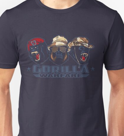 Gorilla Warfare Unisex T-Shirt