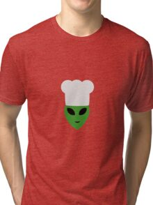 Alien cook with hat Tri-blend T-Shirt