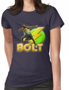Usain Bolt  Olympic Jamaica Womens Fitted T-Shirt