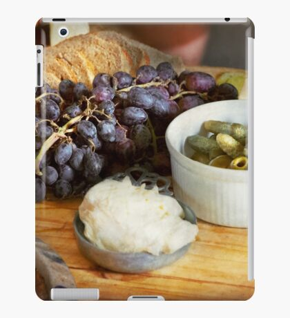 Food - Fruit - Gherkins and Grapes iPad Case/Skin