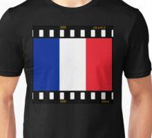 France Flag Film Unisex T-Shirt