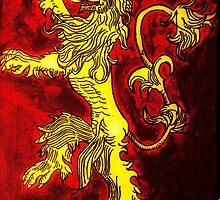 House Lannister Sigil - Hear Me Roar by Dougflip2k