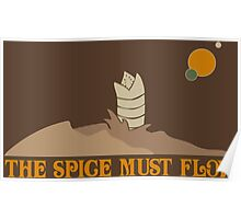 Dune The Spice Must Flow Poster