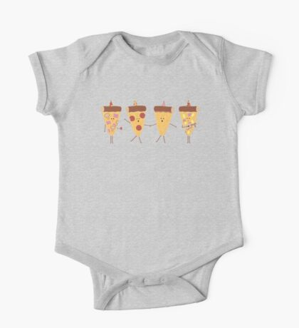 Pizza Party One Piece - Short Sleeve