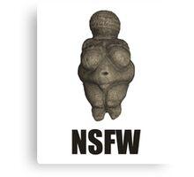 NSFW Prehistoric Venus Figurine Canvas Print