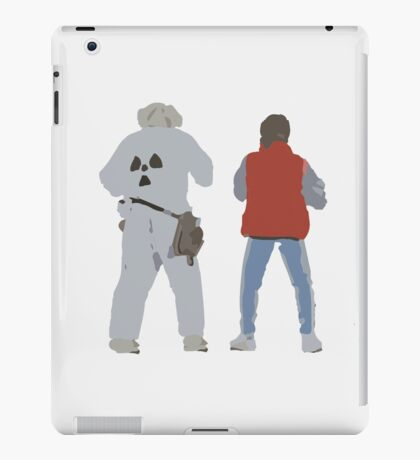 Back (s) to the Future  iPad Case/Skin