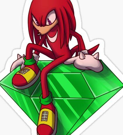 Sonic - Knuckles the Echidna Sticker