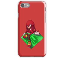 Sonic - Knuckles the Echidna iPhone Case/Skin