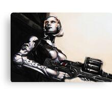 Unshackled A.I. Canvas Print