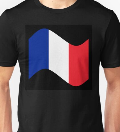 France Flag Wave Unisex T-Shirt