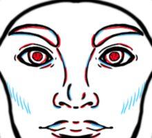 Glowing Eyes Twenty One Pilots Sticker