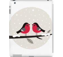 New in shop : Christmas vintage 2 birds edition iPad Case/Skin