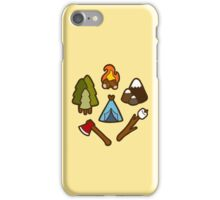 Camping is cool iPhone Case/Skin