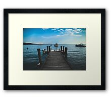 Lake Garda, Italy. Framed Print