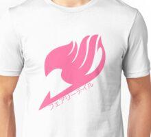 Fairy tail logo (Pink) Unisex T-Shirt