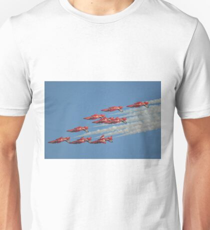 Red Arrows Roll Unisex T-Shirt