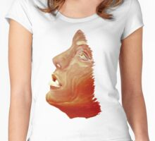 Girl of Lava Women's Fitted Scoop T-Shirt