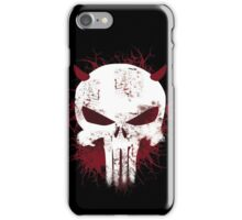 punisher from daredevil iPhone Case/Skin