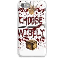 HMMMM..... CHOICES iPhone Case/Skin