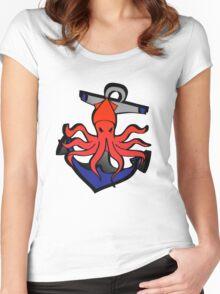 Sailor Jerry Kraken Women's Fitted Scoop T-Shirt
