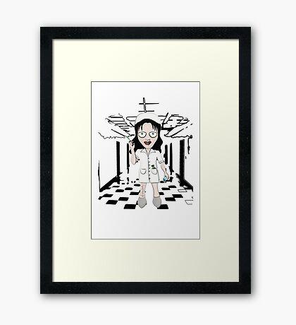 Murder Nurse Framed Print