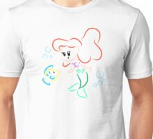 Cute Ariel and Flounder Unisex T-Shirt